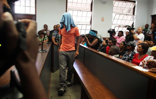File picture of a trial taking place in the Bredasdorp Magistrates Court (Picture by SHELLEY CHRISTIANS)