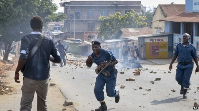 There have been frequent clashes between police and protesters during the unrest