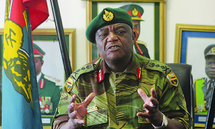 Zimbabwe Defence Forces commander General Constantine Chiwenga