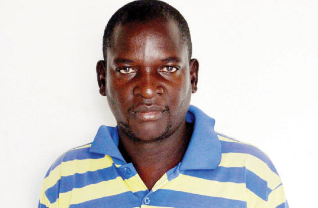 Dennis Moyo whose daughter was abducted (PIcture by The Chronicle)
