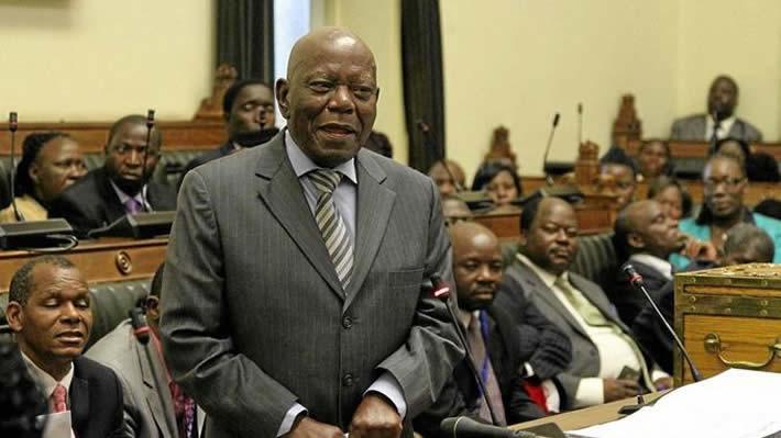 Former Presidential Affairs minister Didymus Mutasa
