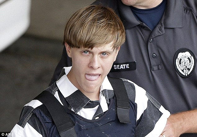 The police chief who arrested Dylann Roof has revealed that cops treated the 21-year-old accused of massacring nine people in a Charleston church to a free meal from Burger King