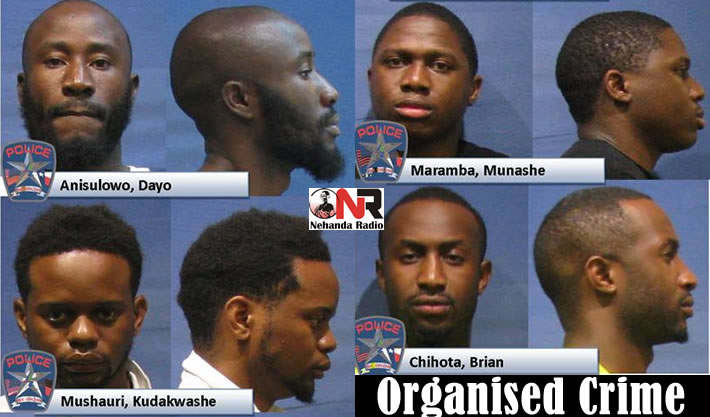 Three Zimbabweans arrested in the US over organized crime