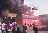 More pictures of bus fire in South Africa