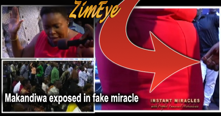 "Video exposes Makandiwa ""fake miracle"""