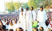 Mugabe gatecrashed the Johanne Marange passover meeting in Manicaland while campaigning for votes