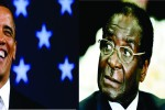 President Obama and Mugabe