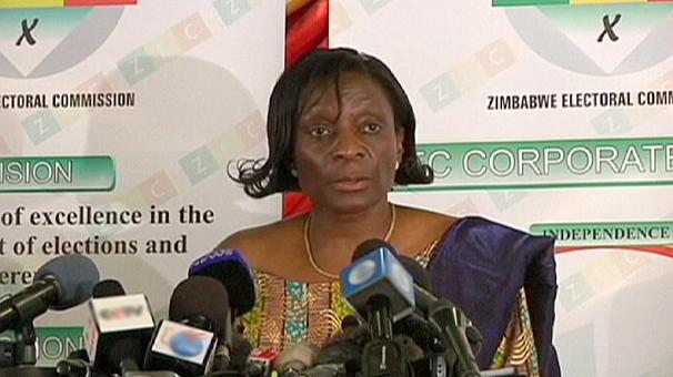 Zimbabwe Electoral Commission chair Rita Makarau