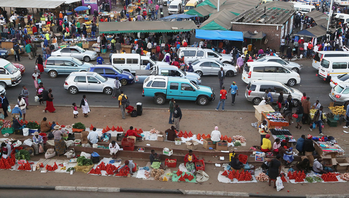 Zimbabwe has become a nation of vendors
