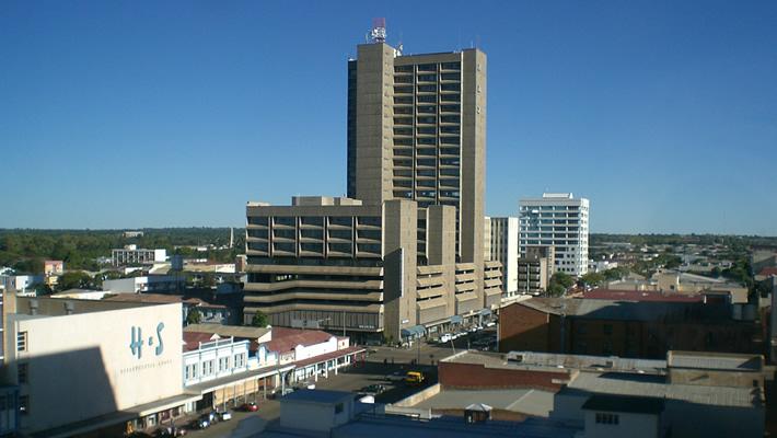 National Railways of Zimbabwe building in Bulawayo