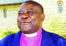 Gunduza belongs to the faction of ex-communicated Anglican Church leader, Nolbert Kunonga (Pictured)
