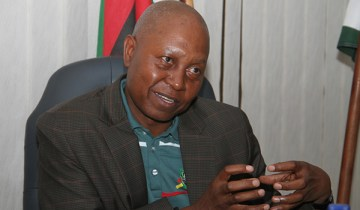 Zimra commissioner general Mr Gershem Pasi