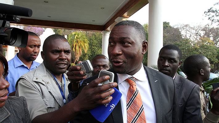 Information Communication Technology, Postal and Courier Services Minister Supa Mandiwanzira