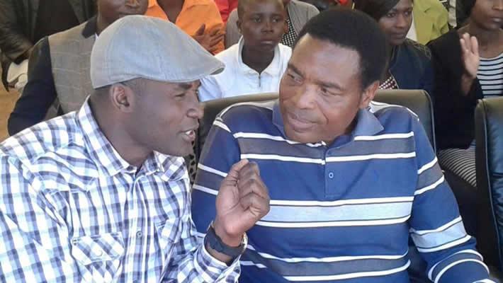 Temba Mliswa and Jabulani Sibanda