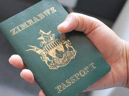 Zimbabwean passport
