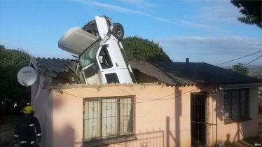 The accident did not cause any injuries