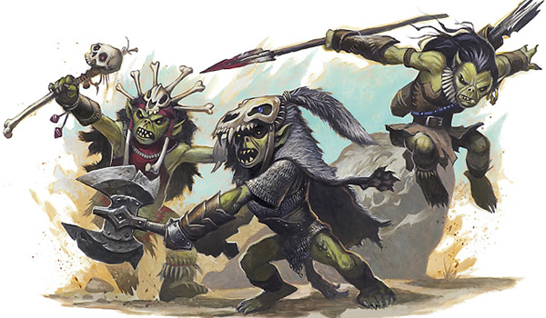 Modern day depiction of goblins