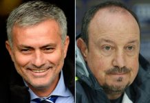 Below the belt: Mourinho had a pop at Rafa's diet