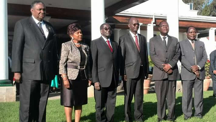 "resident Robert Mugabe tinkered with his ""deadwood"" Cabinet line-up"