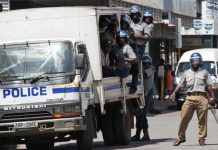 Police state in Zimbabwe