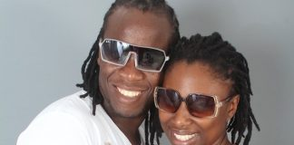 Love birds . .. Ba Shupi and wife Wadzi