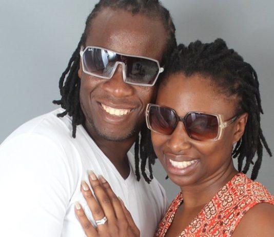 Love birds . .. Ba Shupi and wife Wadzi