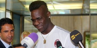 Mario Balotelli spent an unproductive year at Liverpool before returning to Italy. (Photograph: Matteo Bazzi/EPA)