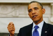 United States president Barack Obama