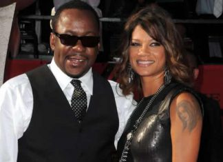 Bobby Brown and wife Alicia Etheredge