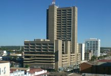 NRZ headquarters in Bulawayo