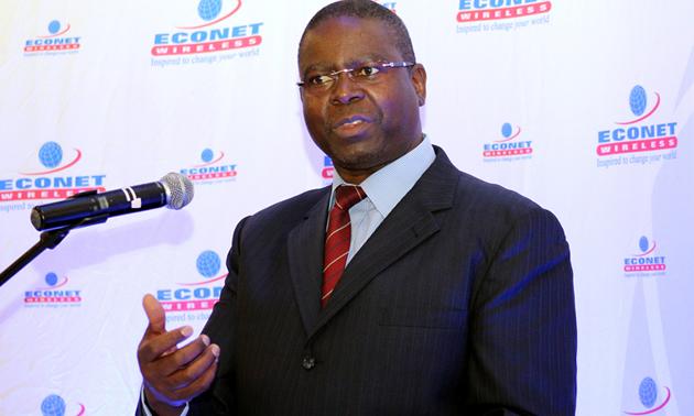 Econet chief executive officer Mr Douglas Mboweni