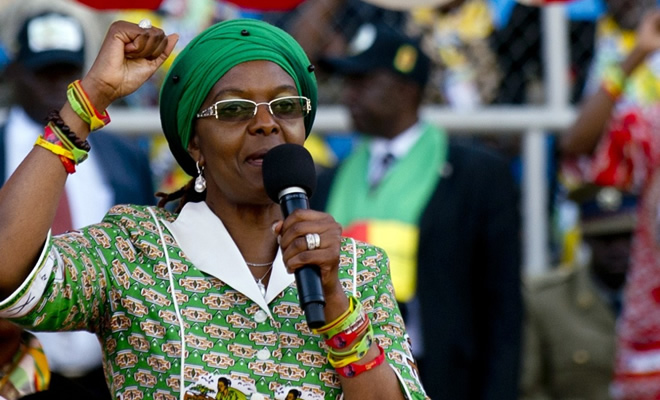 Controversial First Lady Grace Mugabe