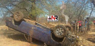 Chief Nyakunhuwa dies in car accident
