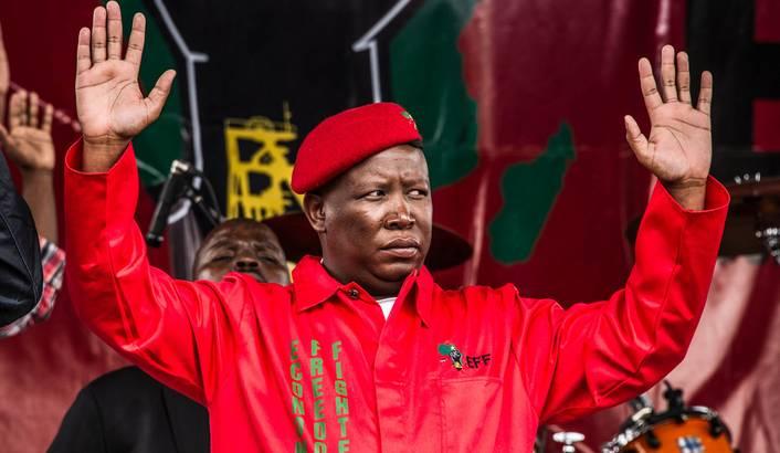 EFF leader Julius Malema