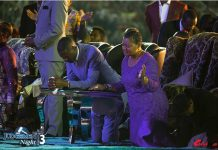 UFIC leader Emmanuel Makandiwa and his wife
