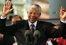 The late Nelson Mandela