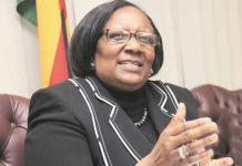 Public Service, Labour and Social Welfare Minister Prisca Mupfumira
