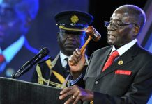 File picture of Robert Mugabe at AU summit in Sandton, South Africa (Elmond Jiyane/EPA)