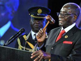 File picture of Robert Mugabe at AU summit in Sandton, South Africa (Elmond Jiyane/EPA)