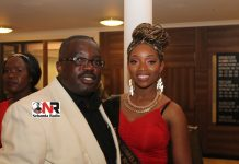 Pageant organiser Simba Nyanhanga seen here with the Second Princess Ivy Bennett