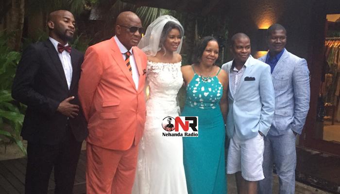 Vanessa Chiyangwa Wedding in the Seychelles