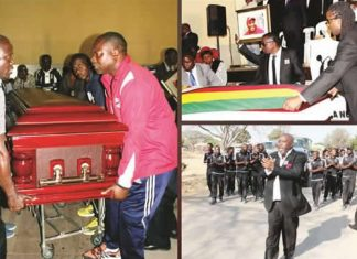 Mashinkila-Khumalo, who died last Sunday, was laid to rest at Lady Stanley Cemetery in Bulawayo