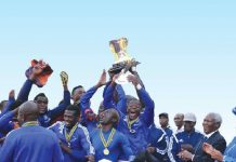 DeMbare lift Defence Forces Cup