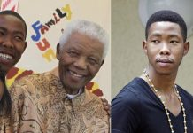 Nelson Mandela's grandson, Mbuso Mandela, 24, is accused of raping a 15-year-old girl in a bar