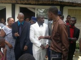 File picture (December 2013) of another wedding being disrupted in Gweru