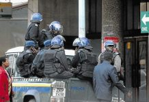 Riot police in Zimbabwe are viewed as an extension of the ruling Zanu PF party