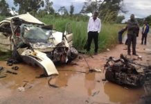 Six family members perish in accident