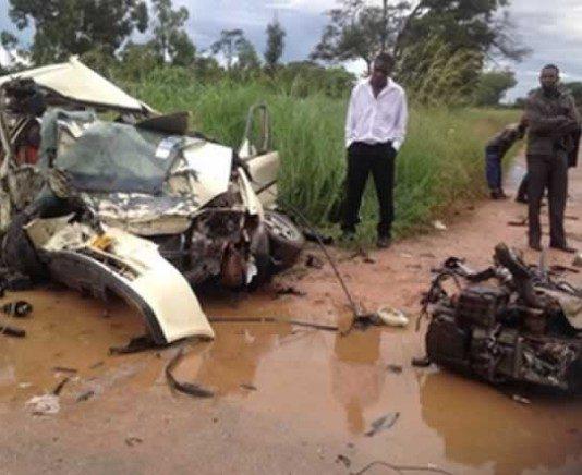 Six family members perish in accident