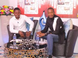 Prophet Shepherd Bushiri seen here with Prophet Uebert Angel from Zimbabwe