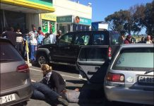 Shooting at Cape Town airport service station